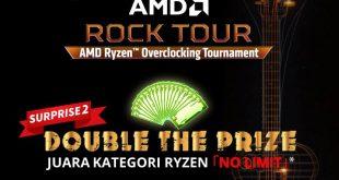 MSI memberikan SURPRISE  SURPRISE  DOUBLE The Prize pada tiap kategori lomba AMD
