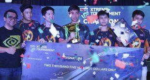 Thailand dan Vietnam mendapat penghargaan tertinggi di GeForce eSports Xtreme Tournament di Asia Tenggara