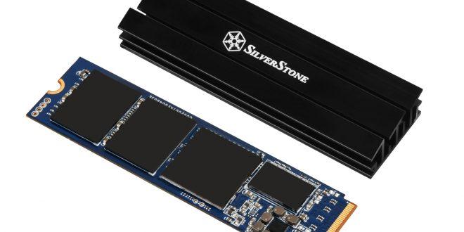 SilverStone meluncurkan heatsink untuk SSD TP02-M2