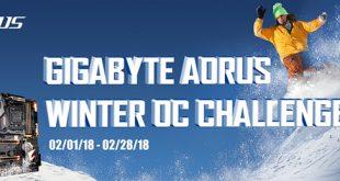 GIGABYTE AORUS WINTER OC CHALLENGE