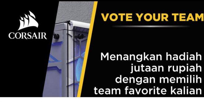 Vote CORSAIR CASEMOD COMPETITION INDONESIA dan Raih Hadiah Jutaan Rupiah