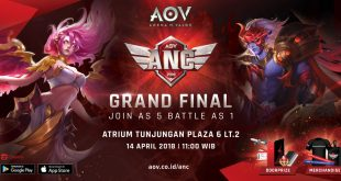 Grand Final AOV National Championship diadakan di kota Surabaya!