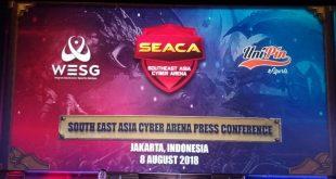 UniPin Hadirkan Kompetisi  eSports Internasional SEACA dan WESG di Indonesia