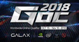 GALAX GOC 2018 Kualifikasi Dunia: 15 Oktober – 10 Nov 2018