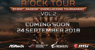 Kabar Gembira Untuk Para Overclocker di Indonesia, AMD Rock Tour Vol 2 Kembali Digelar