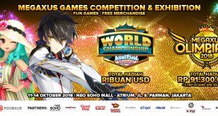 Megaxus Gelar Kompetisi E-sport Nasional, Megaxus Olimpiade 2018