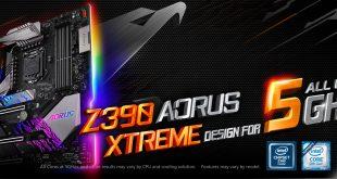 GIGABYTE Meluncurkan Motherboard AORUS XTREME Z390 Dengan 16 Phase Power Digital dan Desain Termal Mutakhir