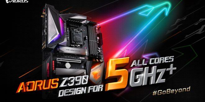 GIGABYTE Rilis Motherboard Z390 AORUS Gaming