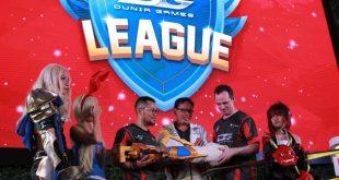 Telkomsel melalui Dunia Games menggelar Liga Esports