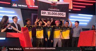 Sapu Bersih Kemenangan Saat Final, Game.ly Online Tournament Season 1 Dimenangkan Oleh Onic Esports