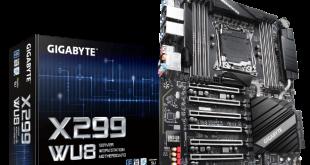 gigabyte x299 wu8