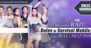 MISS ROS MOBILE – AYO TEMUKAN RATU RULES OF SURVIVAL