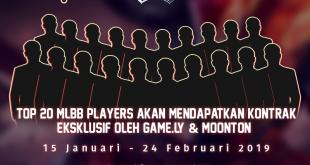 "Game.ly dan Moonton Indonesia Menggelar MLBB RISING STARS ""Unjuk Kebolehan Bermain MLBB, Berhadiah Kontrak Eksklusif"""